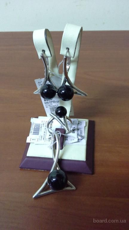Набір срібло 925 проба з Перлами (імітація)