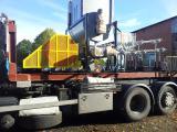 мобильный пресс для производства топливных брикетов из отходов древесины и соломы «Экструдер »
