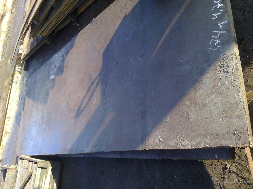 Лист 50 мм 1 лист 2,6 тонны