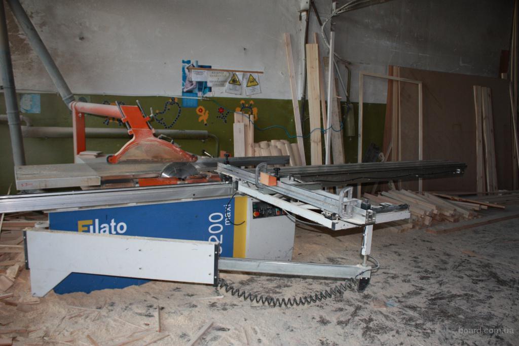 Форматно-раскроечный станок Filato 3200 MAXI.