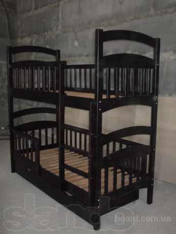 Двухярусная кровать трансформер Карина Люкс, все бортики сьемные!