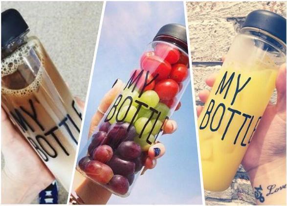 My bottle – оригинальная бутылка, тренд 2015 года! Будь уникальным! Оригинальный и прикольный подарок любому!