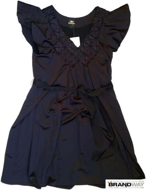 BEBE Женское Платье с поясом