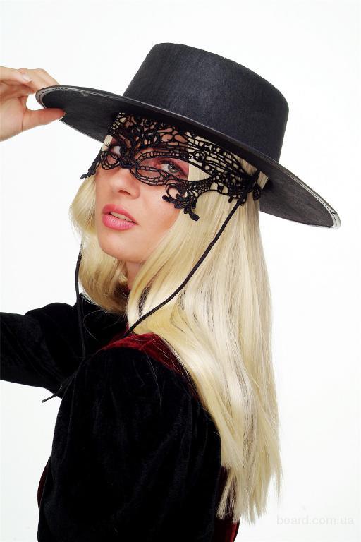 Ажурная маска для костюма Амазонки, леди Ковбой