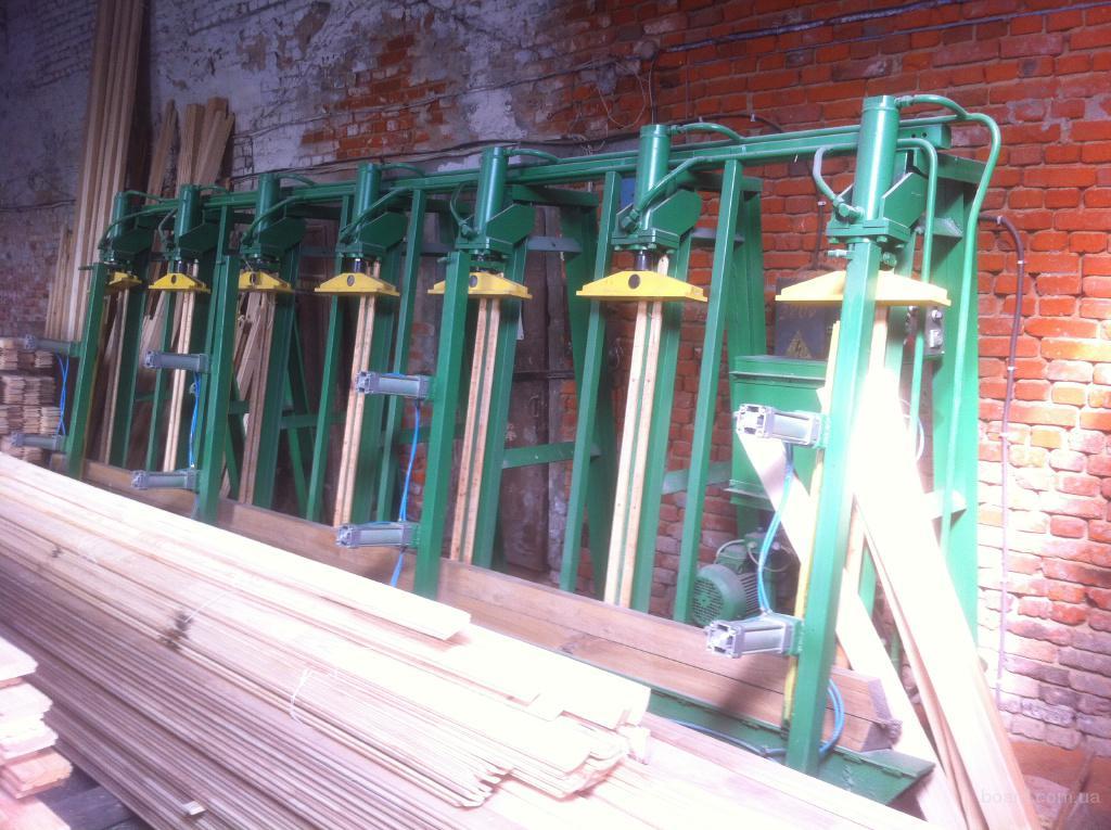 Пресс для склейки бруса и щита Горлушко ПВГ-4500 деревообрабатывающий