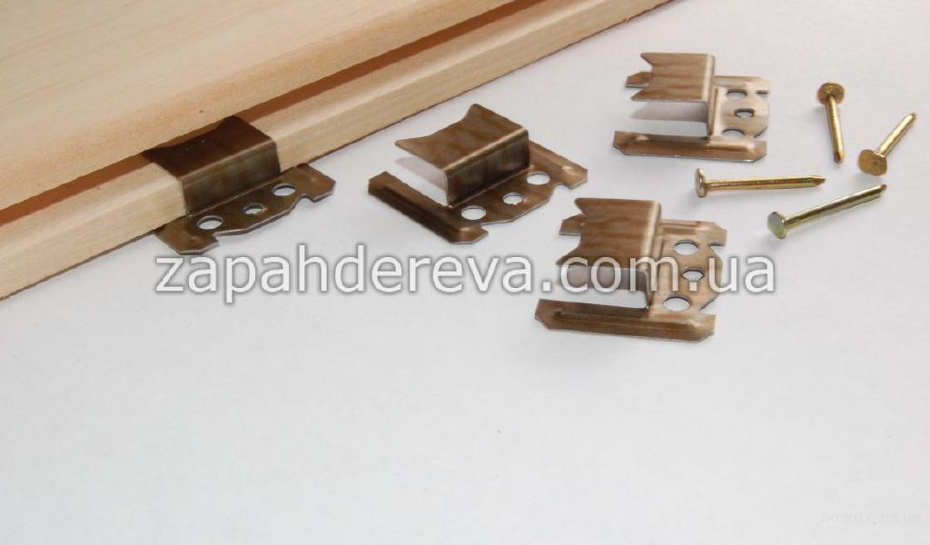Кляймер Канев – монтаж вагонки деревянной
