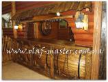 Барные стойки из дерева на заказ