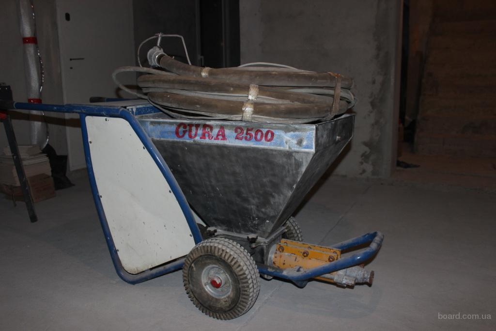 Продаю штукатурную станцию б\у. CURA - 2500