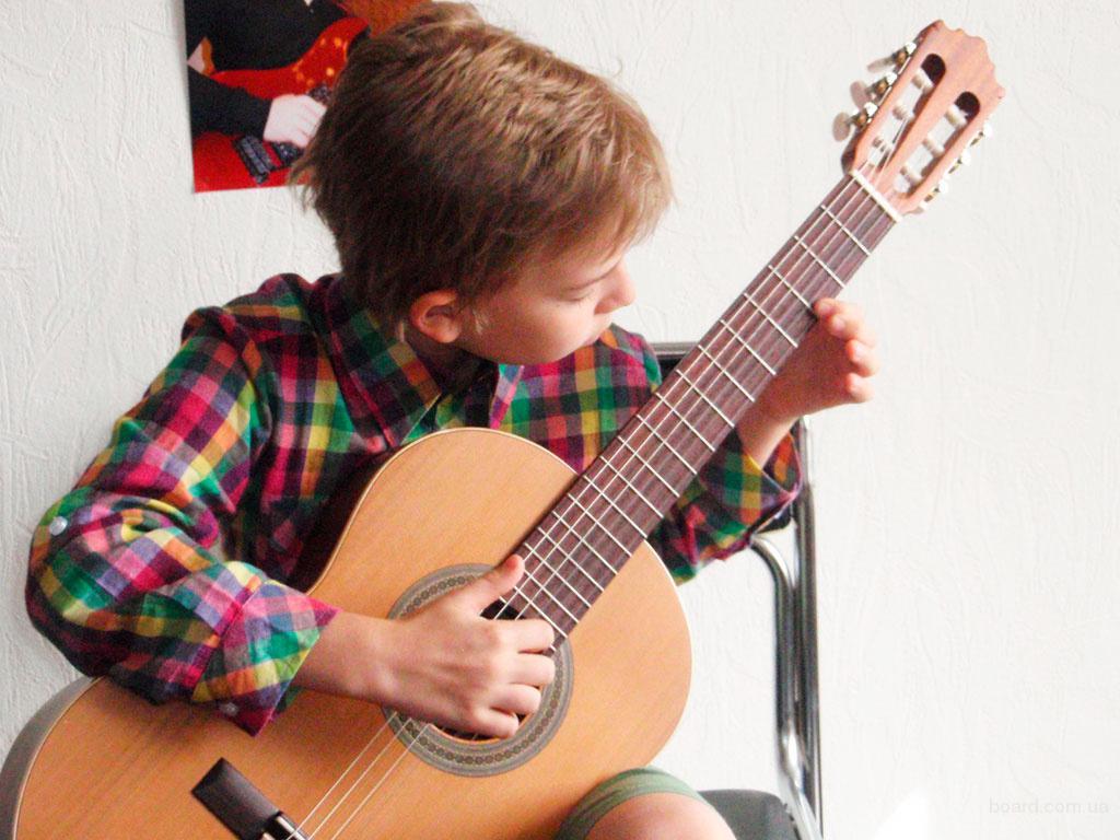 Обучение игре на гитаре для детей и взрослых. Электрогитара. Акустическая гитара. Киев. Центр. Печерск.