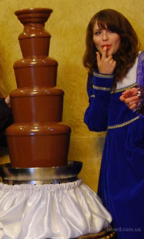 Прокат шоколадных фонтанов на праздник