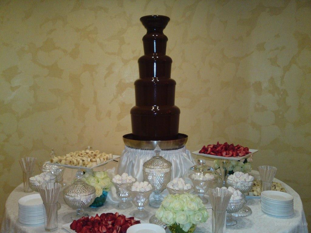 Шоколадный фонтан аренда в Киеве.