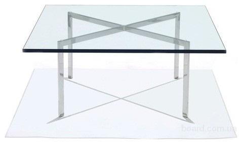 Стол стеклянный журнальный Барселона