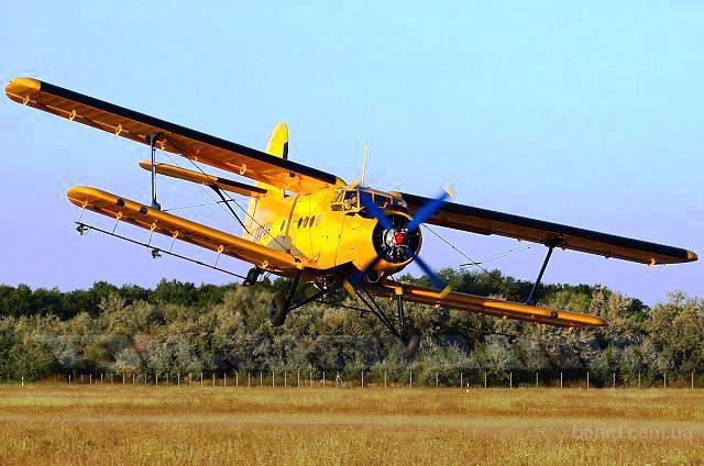 Самолеты малой авиации в помощь сельскому хозяйству