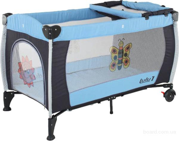 Манеж-кроватка Quatro Lulu 1
