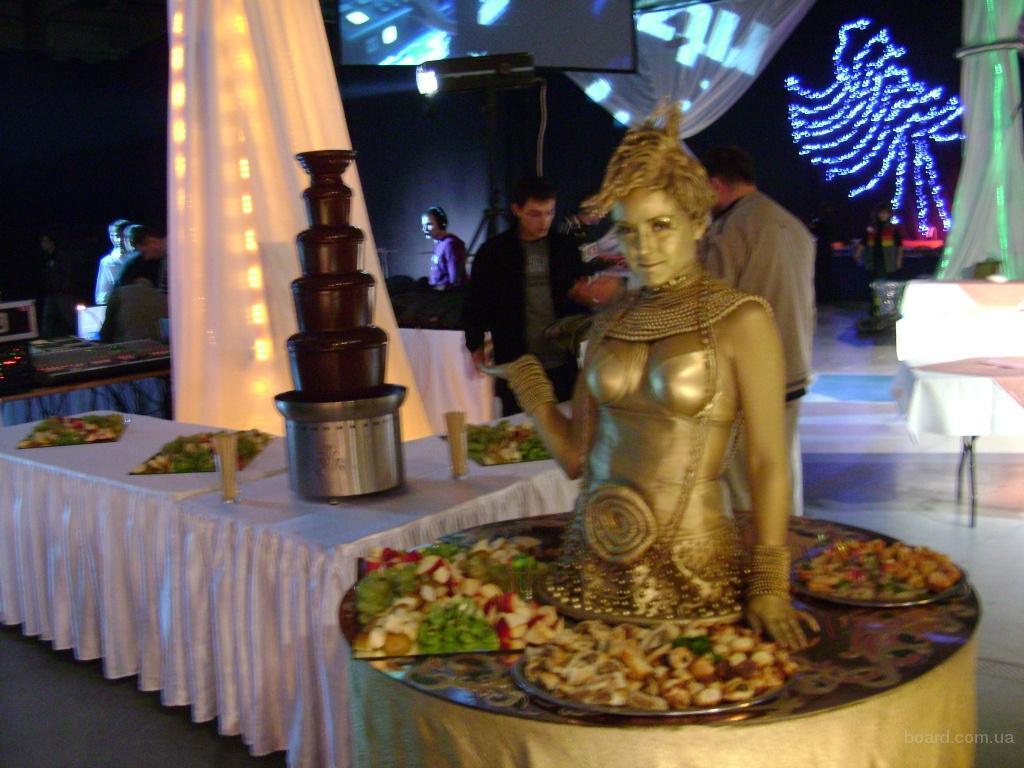 Шоколадные фонтаны для веселых праздников