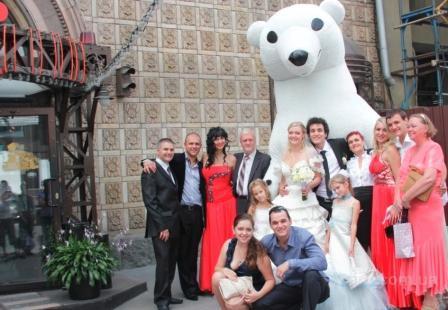 Белый Медведь сделает Ваш праздник незабываемым!!
