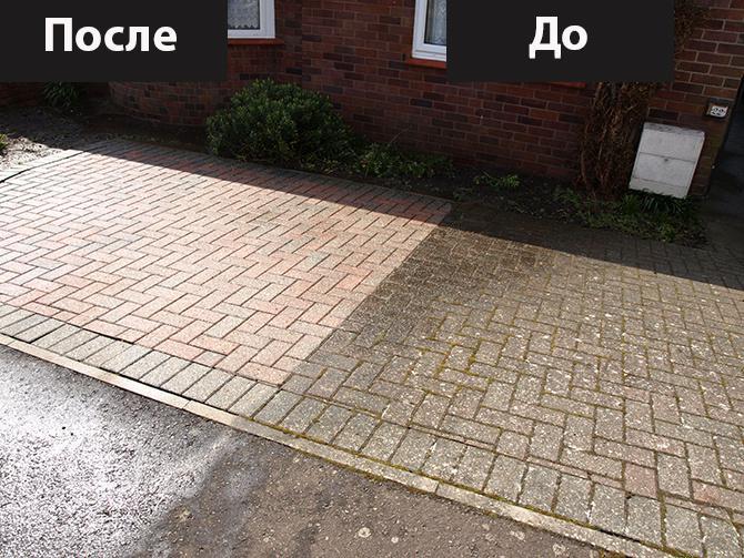 Уборка территории - уборка сада, двора