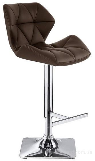Высокий барный стул HY 3008 коричневый