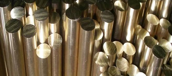 Пруток бронзовый БрАЖ9-4 ф70 цена Киев порезка доставка