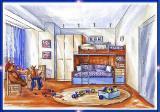Мебель для детской комнаты. Детская мебель на заказ в Харькове