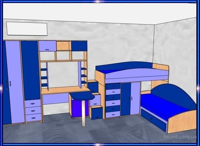 Детские кровати, детские кровати-трансформеры, шкаф-кровати