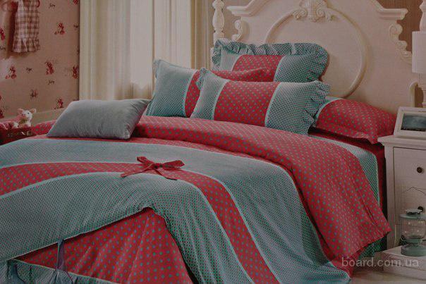 Красивое постельное белье из сатина, Комплект Юная леди