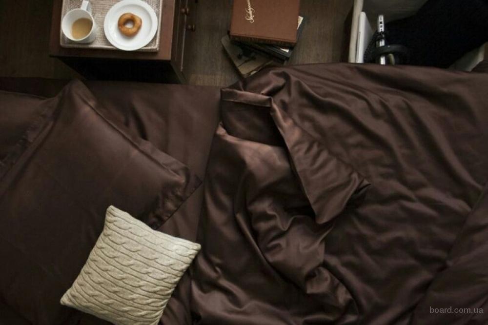 Постельное белье сатин купить, Комплект Dark Chocolate