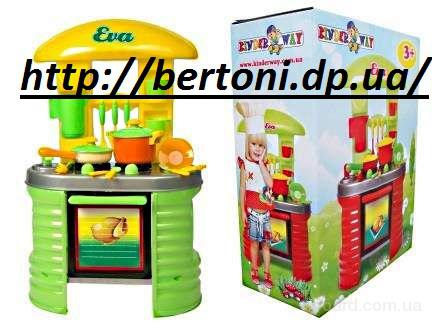 Детская кухня для девочек EVA