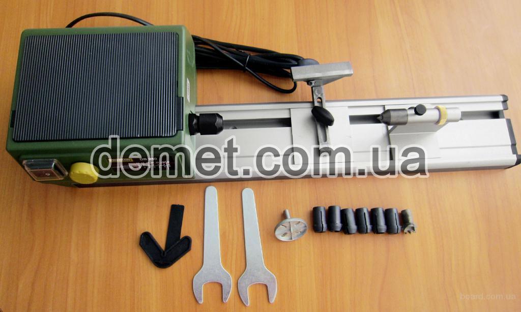 Мини токарный станок по дереву Proxxon DB 250 (длина детали до 250 мм), артикул 27020