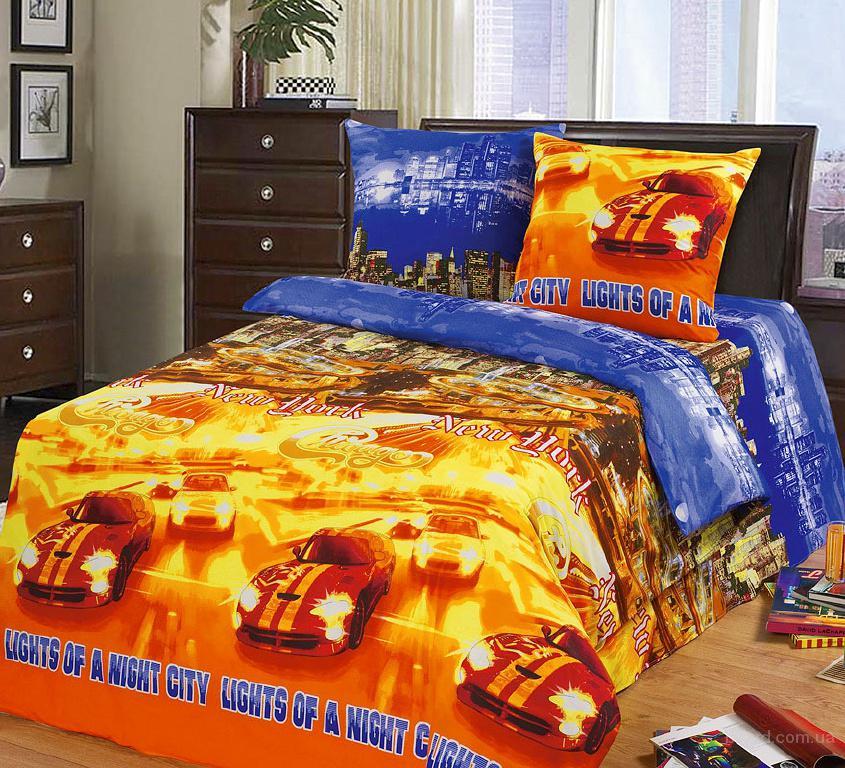 Комплект Огни большого города – купить детскую постель