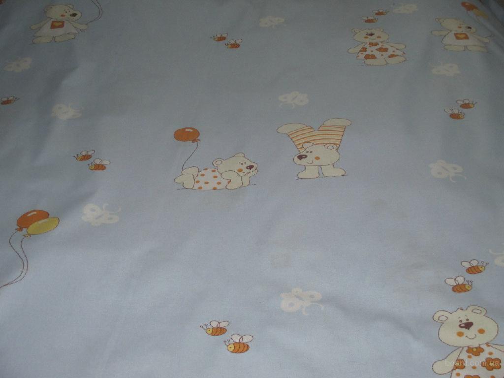 Детские постельные комплекты Голубые мишки