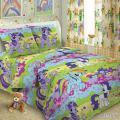 Детское постельное белье в кроватку - Комплект Литтл Пони