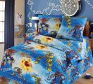 Детская полуторная постель - комплект Трансформеры