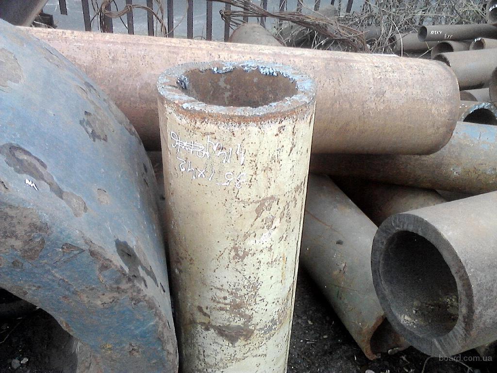Труба 102х18 толстостенная со склада в Киеве с порезкой купить трубу бу в Киеве со склада с порезкой