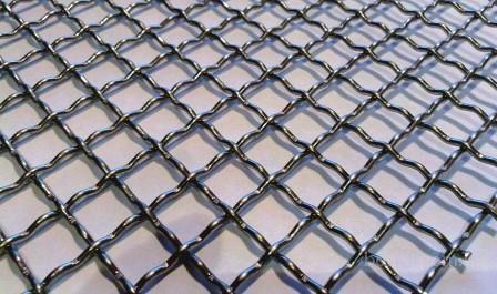 Cетка рифлёная (канилированная)  от производителя для грохотов, заборов, вольеров г. Харцызск