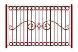 Кованные ворота, калитки и заборы от  Атис Сталь