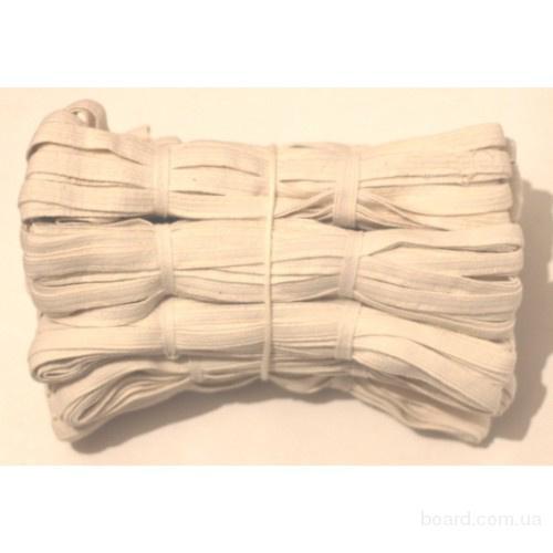 Тесьма эластичная, резинка бельевая, резинка широкая оптом от производителя