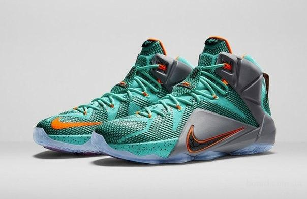 Новые баскетбольные кроссовки Nike Lebron 12