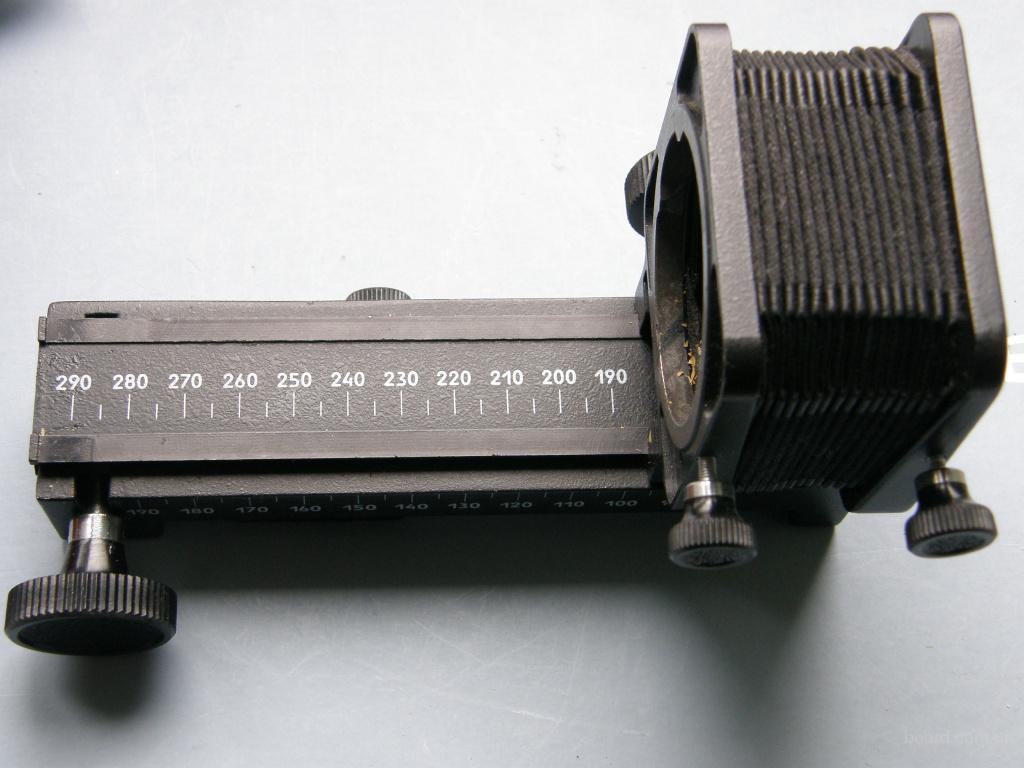 Приставка ПЗФ (для зеркальных фотоаппаратов) для макросьёмки, производство СССР