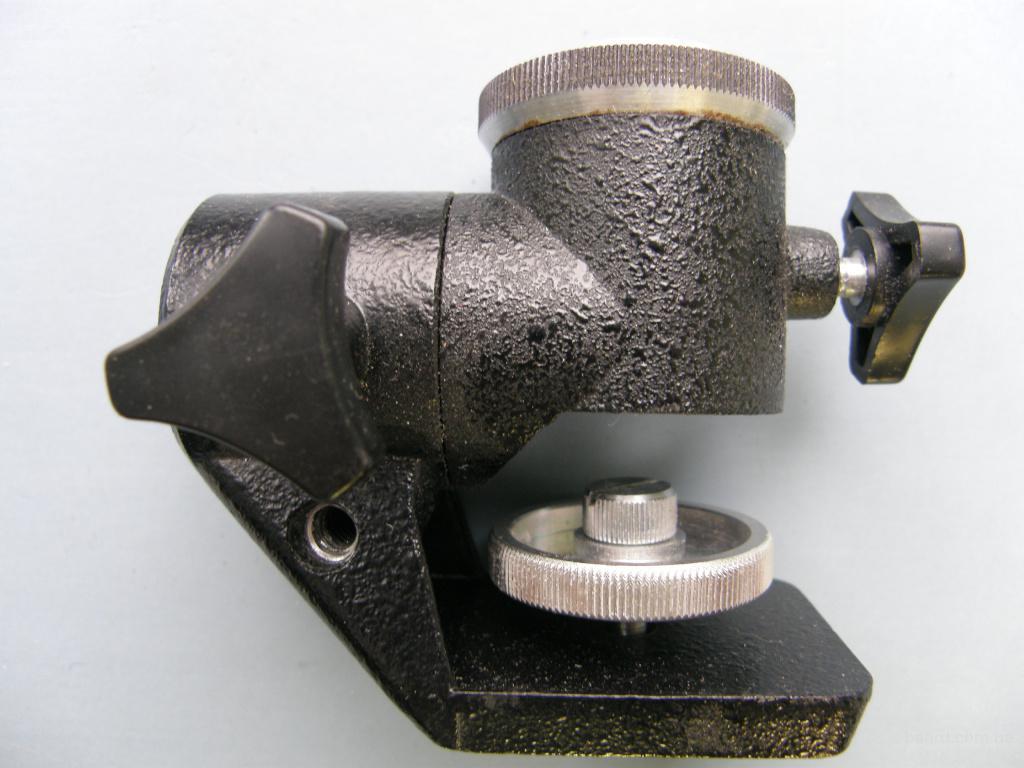 Головка штативная 4ШГ, производство СССР, 1991 года
