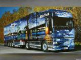 Перевозка грузов автомобилями 115-120м3, с тентованными прицепами