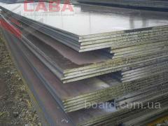 Листы горячекатаные со склада в Днепропетровске