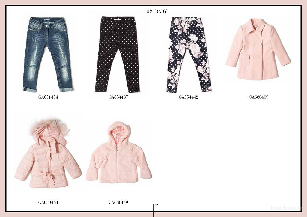 Детская итальянская одежда  Gaialuna, Ronnie Kay,  Street gang, To be to оптом из Неаполя