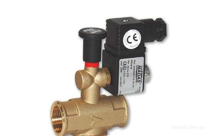 клапан отсекатель газовый электромагнитный