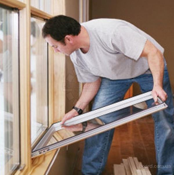 Замена стеклопакета в деревянных окнах своими руками 27
