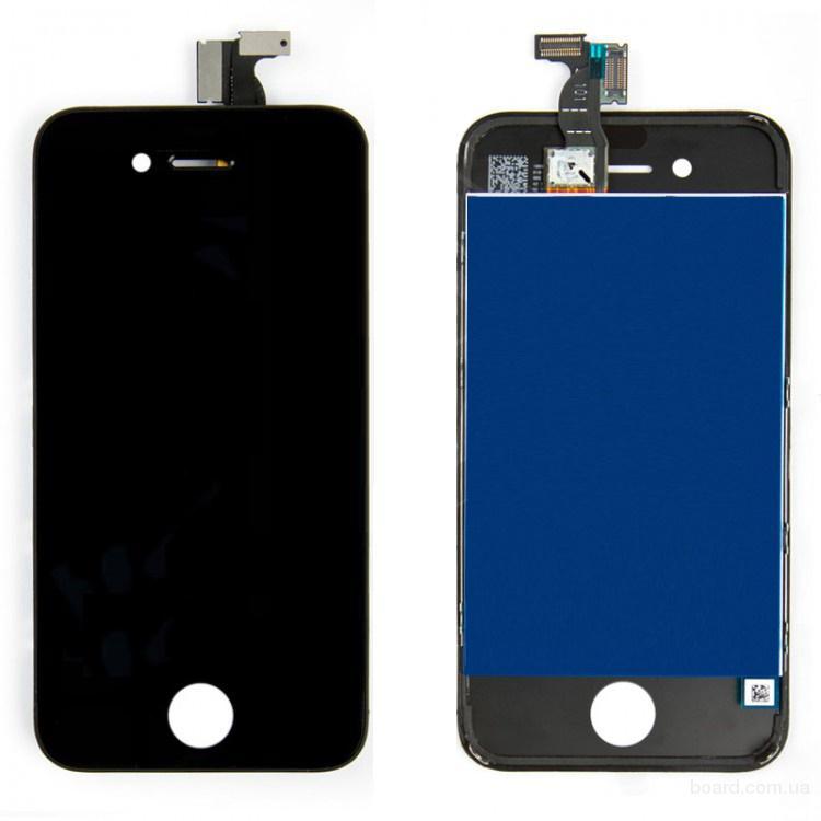 Дисплей для iPhone 4 Black + touchscreen Без битых Пикселей
