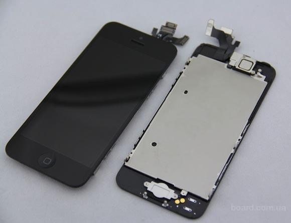 Дисплей для iPhone 5 + touchscreen Black