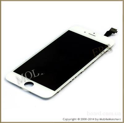 Дисплей для мобильного телефона Apple iPhone 6 Белый с Тачскрином
