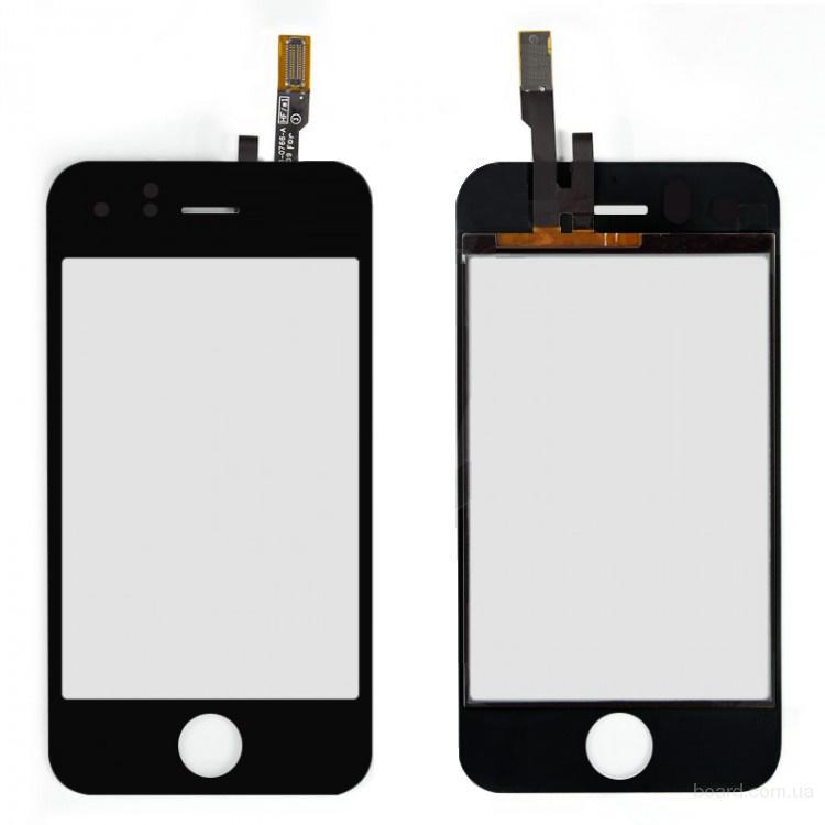 Сенсорный экран для iPhone 3Gs Black