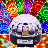 Диско шар Led Magic Ball Light YPS-D50 - цветомузыка